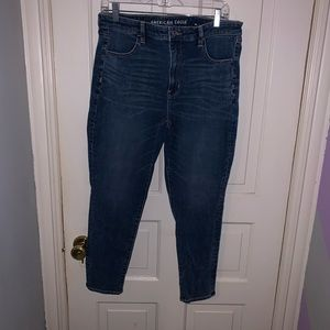 American Eagle High Rise Jeggings Size 14 SHORT